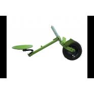 Адаптер (сидіння) для грунтофрези з колесом