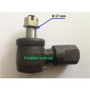 наконечник рульового гідроциліндра поворотний JM244E/354/404
