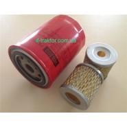 Комплект фільтрів WB202 (JX0810) +2шт.C0506B на трактор DF240-254