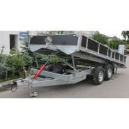 Причіп для перевезення будівельної та дорожньої техніки A9-4525 EUROPACK TURN