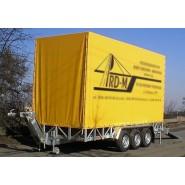 Лавета для перевезення будівельної та дорожньої техніки A9-6020 CLASSIC з регульованим дишлом