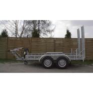 Причіп-платформа для перевозення будівельної та дорожньої техніки A1-3015  CLASSIC