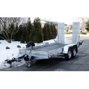 Причіп-платформа для перевозення будівельной та дорожньої техніки A7-4015 TRUCK PLUS