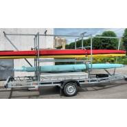 Причіп для перевезення каное PRAGMATEC H0-3215 з бар'єркою