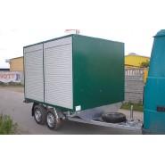 Причіп для перевезення водно-каналізаційного обладнання PRAGMATEC G3-3019