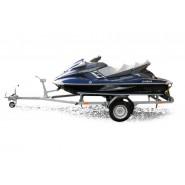 Причіп для човна та гідроцикла PRAGMATEC H0-3813